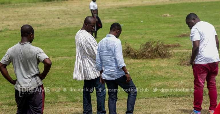 PHOTOS: Dreams FC Inspects Dawu Project Ahead Of Ghana Premier League Season