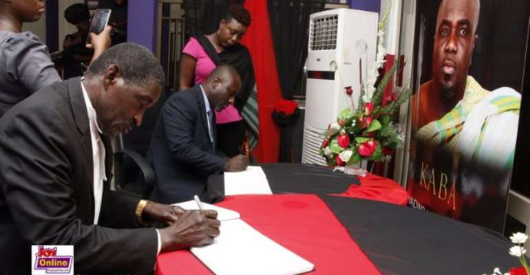 As They Came, They Cried And Signed KABA Book Of Condolence