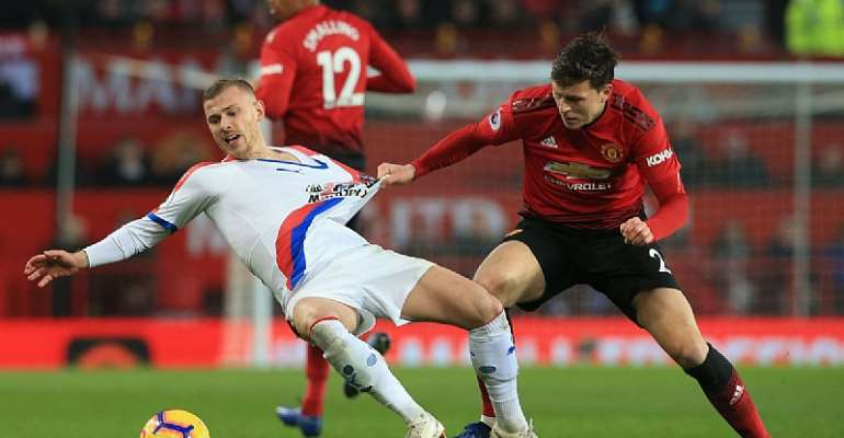 Man Utd Held To Draw By Crystal Palace