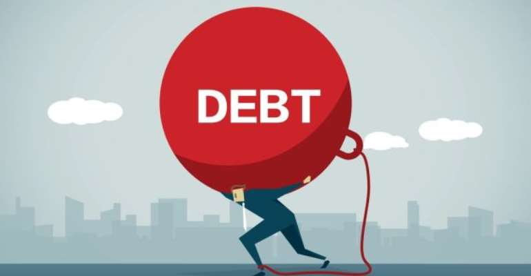 Ghana's debt stock reaches 208.6 billion cedis