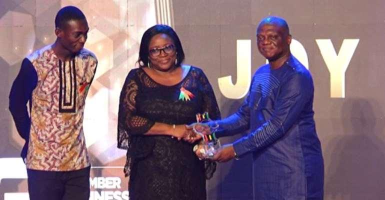 Joy Business Van wins big at 3rdChamber Business Awards