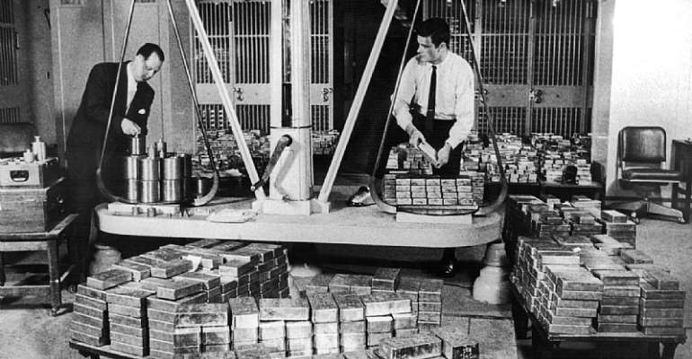 An Insight Into The US American Treasury In 1960