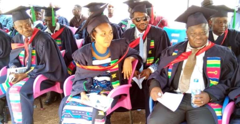 N/R: Evangelical Presbyterian College of Education holds maiden matriculation