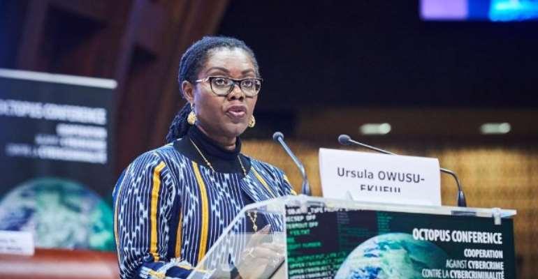 Interrogate application of law in Cyberspace - Ursula Owusutointernational community