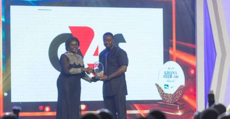 G4S wins best private security company at GC100 Awards