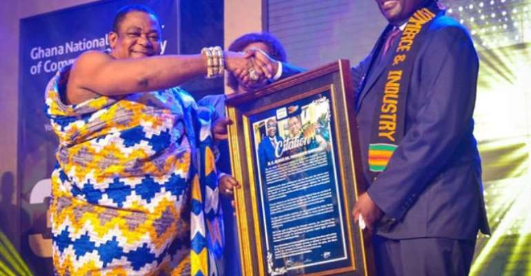 Chamber of Commerce and Industry honours Bawumia