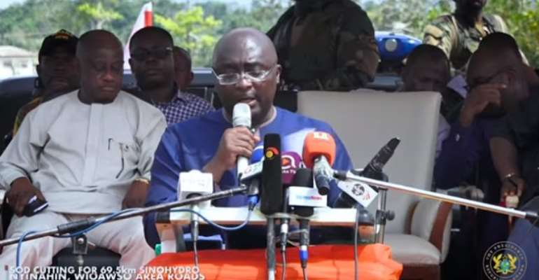 Government will ensure judicious use of bauxite resources - Bawumia assures