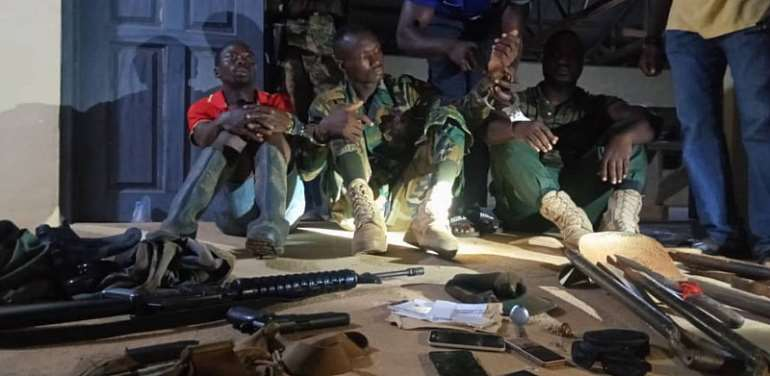 Soldier, Two Others Grabbed For Impersonation