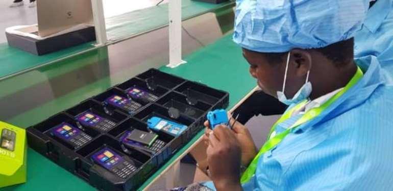 Inside Uganda's first phone factory