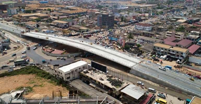Akufo-Addo To Opens Phase One Of Obetsebi Lamptey Interchange Today