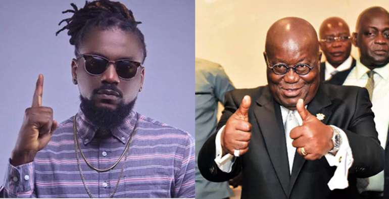 Vote Akufo-Addo; His Ambulance Was There For Me When I Had An Accident – Samini