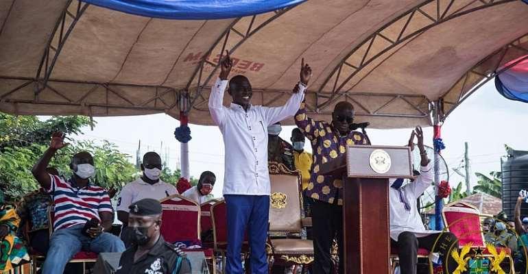 Ghanaians Want Progress, Not A Dumsor, Backward, Abysmal Leader – Akufo-Addo Jabs Mahama