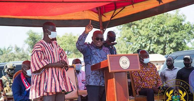 Vote NPP; We're Committed To Infrastructural Dev't – Akufo-Addo