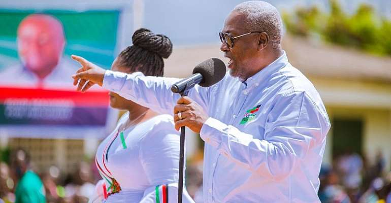 I'll Reinstate, Compensate Tempane SHS Headmaster Akufo-Addo Gov't Sacked For Criticising Free SHS — Mahama