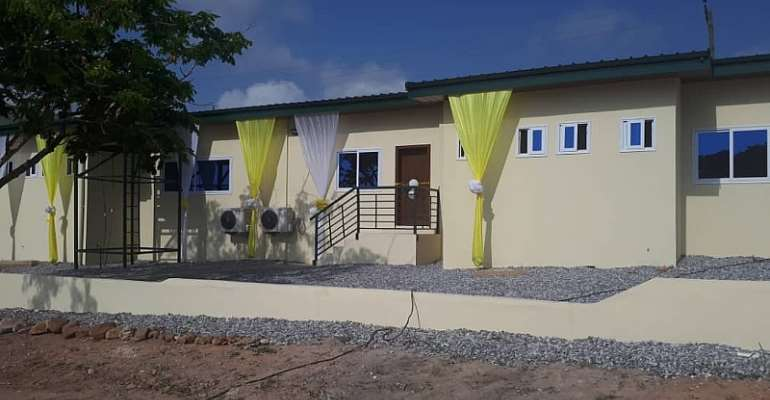 MTN Build, Commissions Ultra-Modern Multi-Purpose Library At Ebenezer SHS To Serve Dansoman