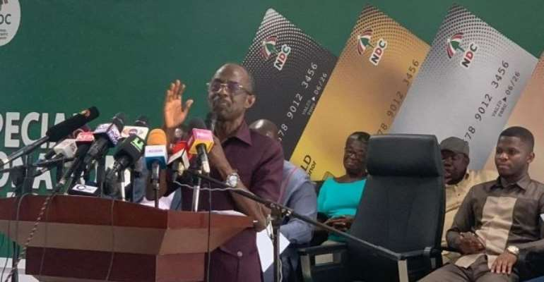 [Full Text] NPP Plots To Remove Domelevo For Fighting 'Their Thieving Govt' — NDC