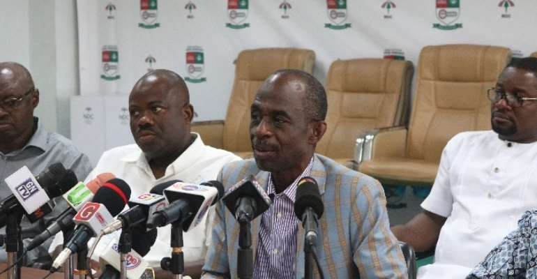 Stop Harassing Domelevo And Arrest Osafo Maafo Over $1m Kroll Payment – NDC