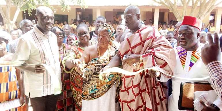 Gomoa Central Chiefs Hail Akufo-Addo And NPP For Outstanding Performance