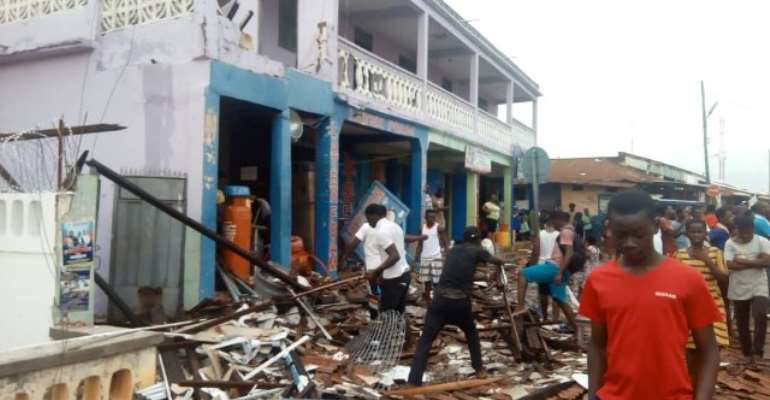 5 Casualties After Violent Winds Hit Somanya — NADMO