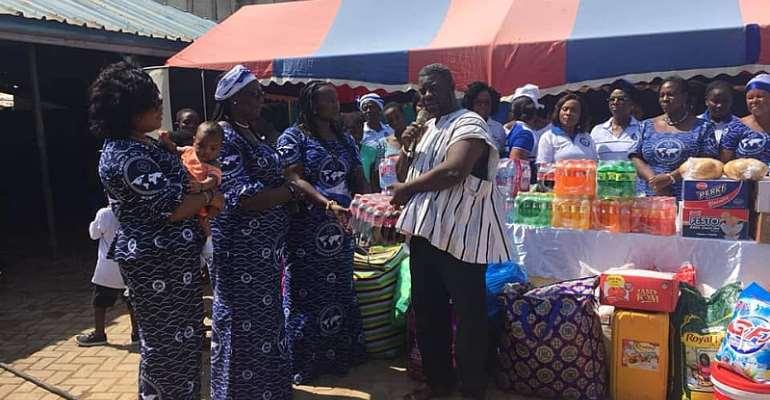 Nungua New Life Orphanage Receives Help From PIWC Sakumono Women's Ministry