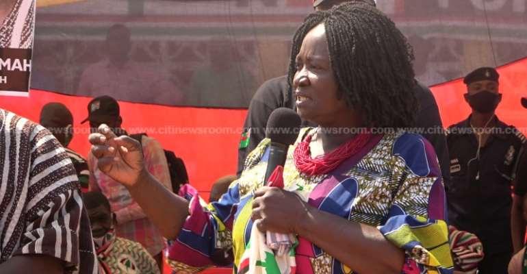 Prof. Naana Jane Ends Bono East Regional Campaign Tour