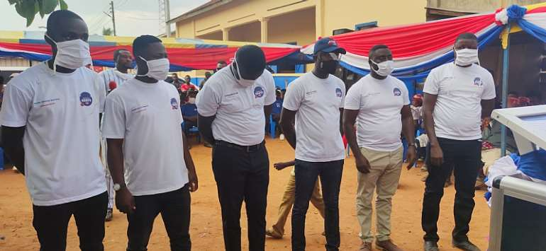 NPP Inaugurates Offinso North Chapter Of Patriotic Gents
