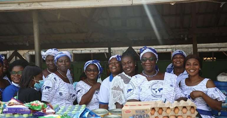 PIWC Sakumono Women's Ministry VisitsNew Life Orphanage