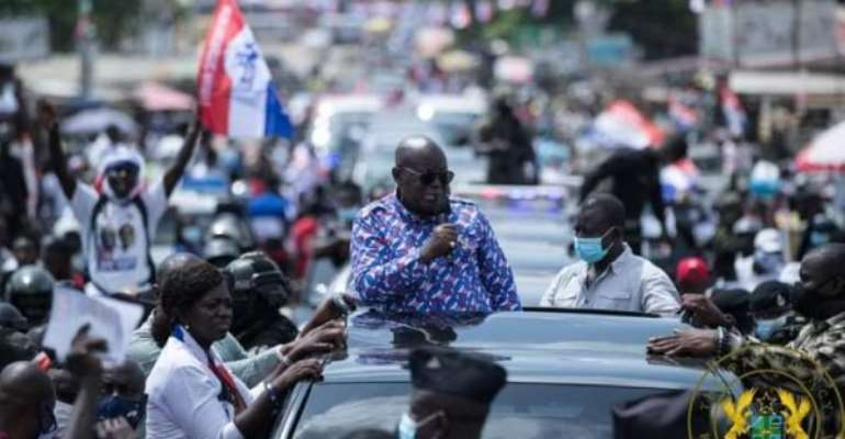 Mahama Has Nothing To Offer You - Akufo-Addo To Ghanaians