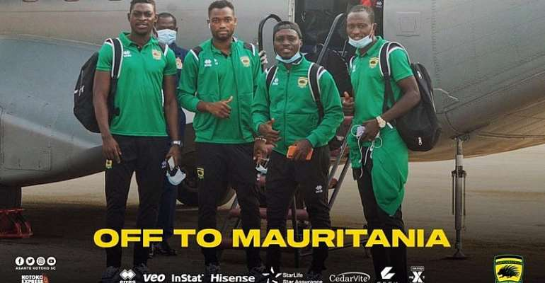 CAF CL: Kotoko Depart Ghana For Mauritanian Ahead Of FC Nouadhibou Clash
