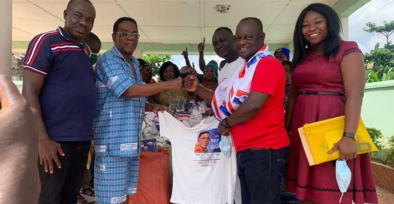 Elections 2020: Agona East Constituency Receives Support From NPP China Branch