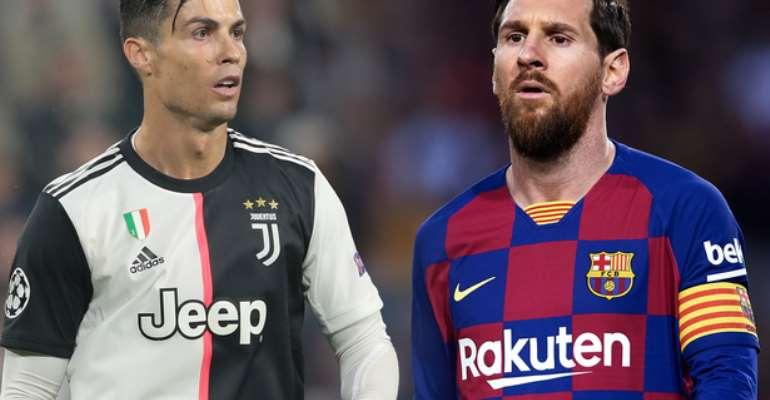 Ronaldo and Lionel Messi