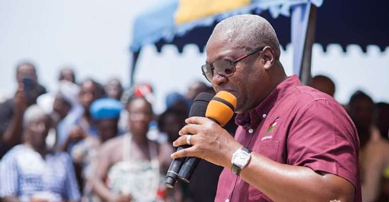 I'll Pay All Contractors Owed By NPP Gov't – Mahama