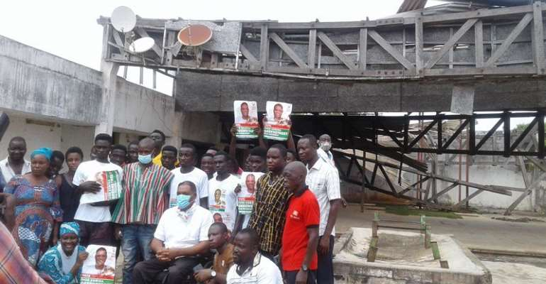 I'll Revive Over 50 Collapsed Factories If Elected President — Greenstreet Promises