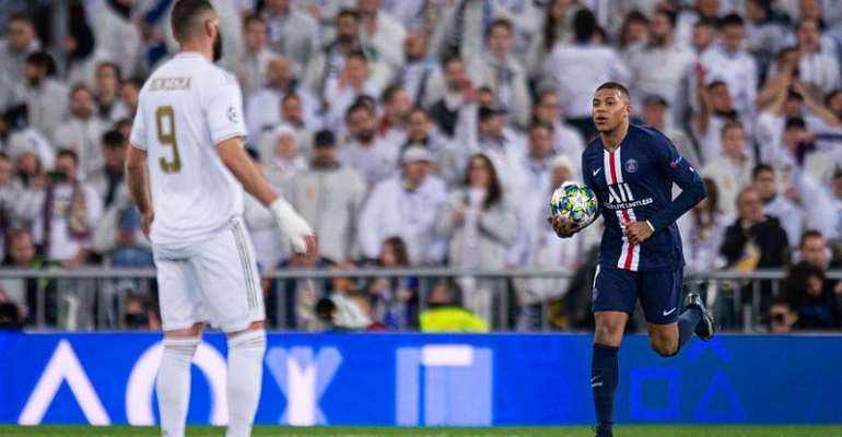 UCL: Mbappe Stars As PSG Snatch Dramatic Point At Real Madrid