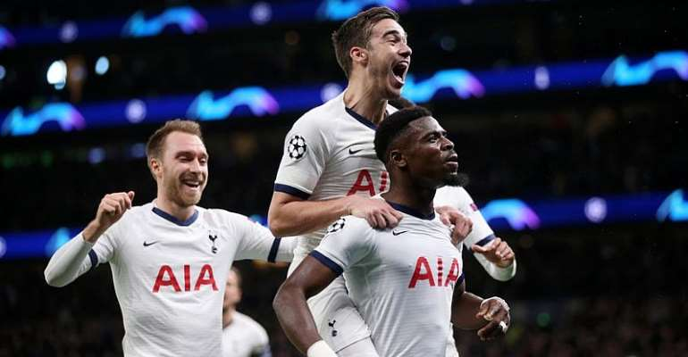 UCL: Spurs Survive Scare To Make Last 16 On Mourinho's Home Bow