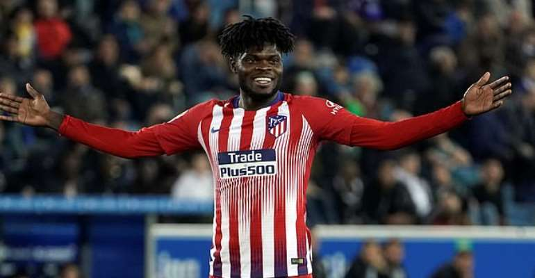 UCL: Thomas Partey Named In Atletico Madrid Squad To Face Juventus