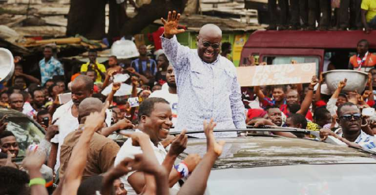 Akufo-Addo Storm Central Region Today