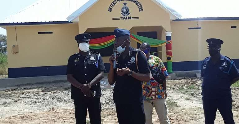 Tain District: Newly Constructed Police Headquarters Inaugurated