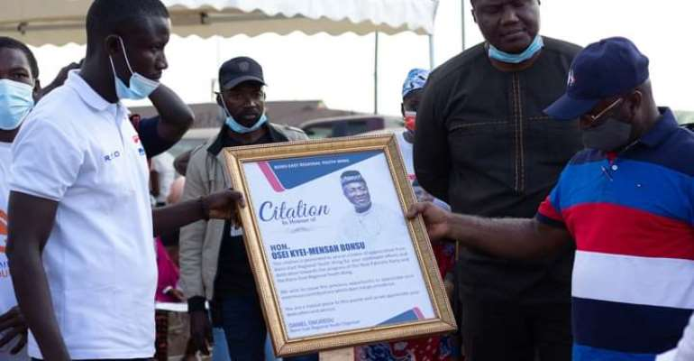 Bono East NPP Youth Wing Honours Suame MP