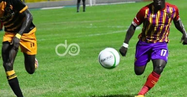 Winger Patrick Razak in action against Ashgold last weekend