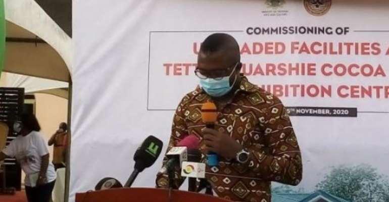 Tetteh Quarshie Cocoa Farm Receptive Facility Refurbished