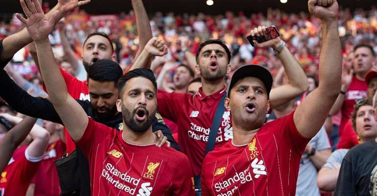 Liverpool fans © Gallo Images