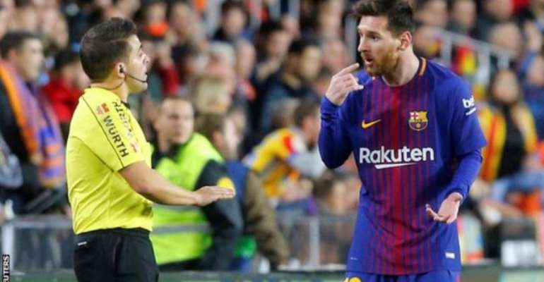 Barca Earn Draw Against Valencia As 'Ghost Goal' Not Given