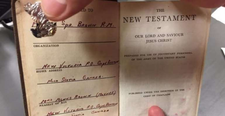 Bible Belonging To World War 2 Soldier Finds Its Way Home After Over 70 Years