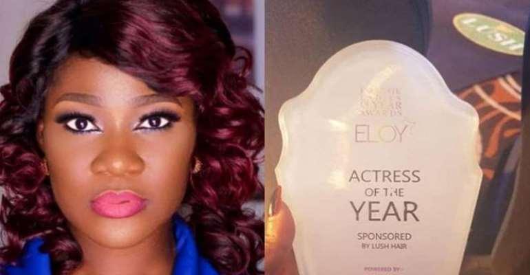 Actress, Mercy Johnson Wins Actress of The Year Award