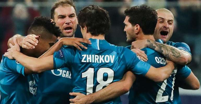 UCL: Zenit Deny Lyon Chance To Clinch Early UCL Last-16 Spot