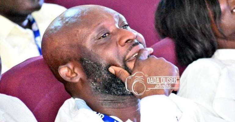 REVEALED: George Afriyie's V8 Burnt To Ashes During Campaign For GFA Presidency