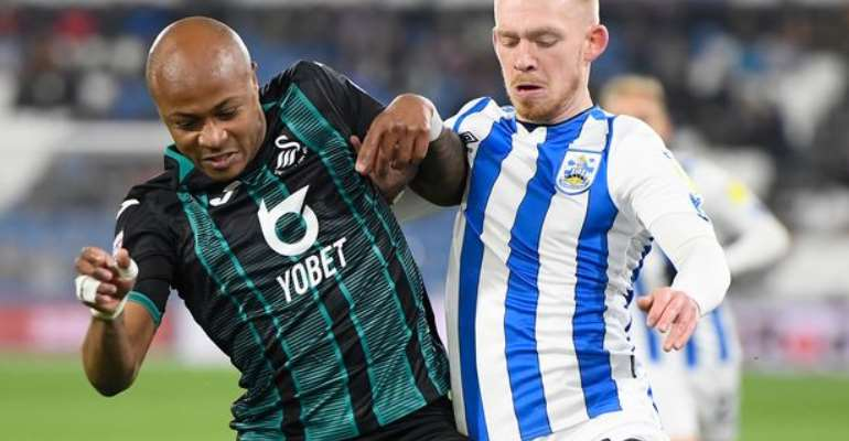 Dede Ayew Impress For Swansea City In Draw Against Huddersfield Town