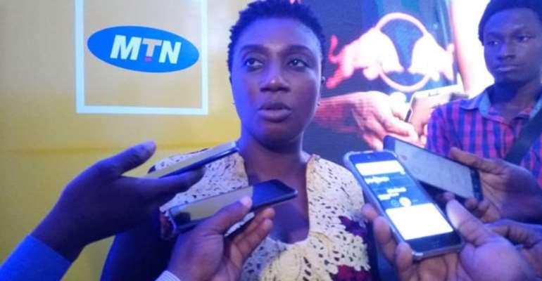 Georgina Asare Fiagbenu addressing the media