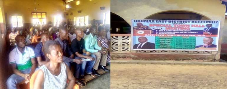 DCE-Dormaa East Entreat His People To Vote Yes In The Forthcoming Referendum